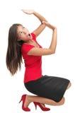 Trabalhe a pressão, atacada ou o peso em ombros Foto de Stock Royalty Free