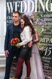 Trabalheira do casamento uma exposição em Kirov Rússia fotos de stock royalty free