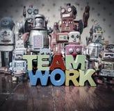 Trabalho da equipe do conceito Imagens de Stock