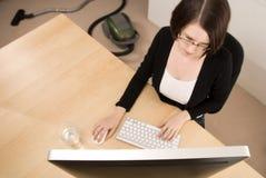 Trabalho da HOME Imagem de Stock