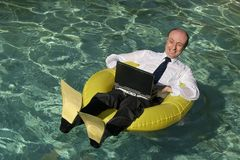 Trabalho da HOME hoje Imagem de Stock Royalty Free
