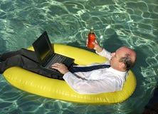 Trabalho da HOME outra vez hoje Foto de Stock Royalty Free