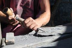 Trabalho das mãos Imagem de Stock Royalty Free