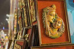 Trabalho de arte, artesanatos indianos justos em Kolkata Imagens de Stock