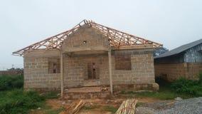 Trabalho de construção Foto de Stock