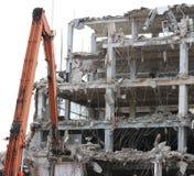 Trabalho de demolição Foto de Stock