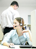 Trabalho de escritório Imagens de Stock