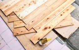 Trabalho de madeira Fotos de Stock Royalty Free