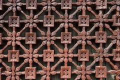 Trabalho de madeira detalhado fotos de stock royalty free
