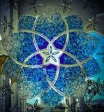 Trabalho de vidro Foto de Stock Royalty Free