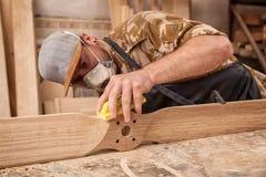 Trabalho do carpinteiro imagem de stock royalty free