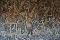 Trabalho do Flemish da tapeçaria Fotografia de Stock