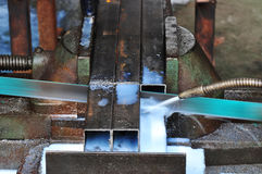 Trabalho do metal Imagem de Stock