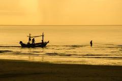 Trabalho do pescador Imagens de Stock Royalty Free