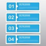 Trabalho do vetor, bandeira abstrata para o projeto e trabalhos criativos Imagem de Stock Royalty Free