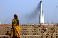 Trabalho duro em India Fotografia de Stock Royalty Free