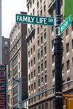Trabalho e vida familiar Fotografia de Stock