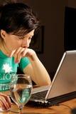 Trabalho em casa Imagens de Stock Royalty Free