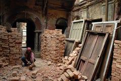 Trabalho emigrante em India Fotos de Stock Royalty Free