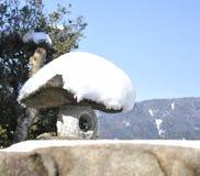 Trabalho japonês da pedra do jardim Imagens de Stock Royalty Free