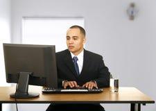 Trabalho no escritório Foto de Stock
