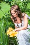 Trabalho no jardim Fotos de Stock Royalty Free