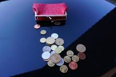 Trabalho para moedas de um centavo Fotos de Stock