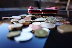 Trabalho para moedas de um centavo Imagem de Stock Royalty Free