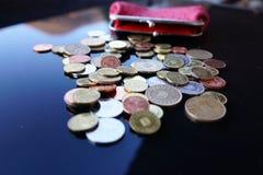 Trabalho para moedas de um centavo Imagens de Stock