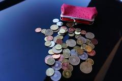 Trabalho para moedas de um centavo Fotos de Stock Royalty Free