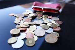 Trabalho para moedas de um centavo Imagem de Stock