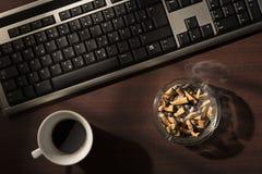 Trabalho tarde Imagem de Stock