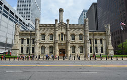 Trabalhos de água de Chicago na milha do milagre Imagem de Stock Royalty Free