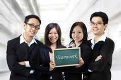 Trabalhos de equipa Fotos de Stock