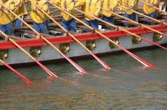 Trabalhos de equipa da água Fotografia de Stock Royalty Free