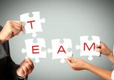 Trabalhos de equipa do negócio Fotografia de Stock Royalty Free