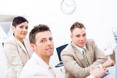 Trabalhos de equipa do negócio Fotos de Stock