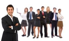 Trabalhos de equipa do negócio Foto de Stock