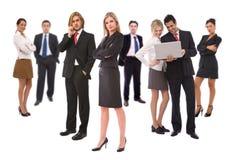 Trabalhos de equipa do negócio imagens de stock royalty free