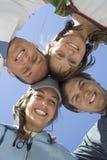 Trabalhos de equipa e amizade Fotografia de Stock Royalty Free
