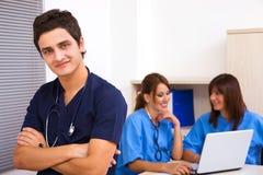 Trabalhos de equipa médicos Fotografia de Stock Royalty Free