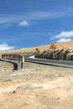 Trabalhos de estrada Imagens de Stock