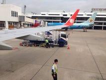 Trabalhos do aeroporto Foto de Stock Royalty Free
