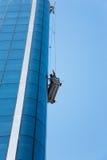 Trabalhos do arranha-céus Fotografia de Stock