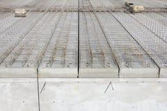 Trabalhos do concreto Foto de Stock Royalty Free