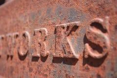 Trabalhos do ferro Fotos de Stock
