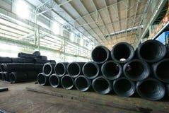Trabalhos do ferro da fábrica de aço Fotografia de Stock