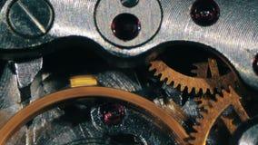 Trabalhos do mecanismo do pulso de disparo vídeos de arquivo