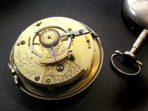 Trabalhos do relógio de bolso Imagens de Stock