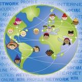 Trabalhos em rede Imagem de Stock